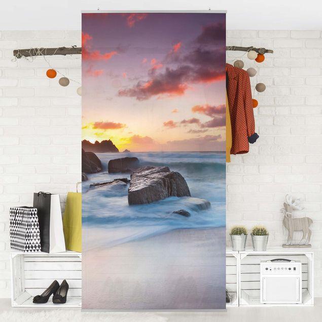Produktfoto Raumteiler - Am Meer in Cornwall 250x120cm