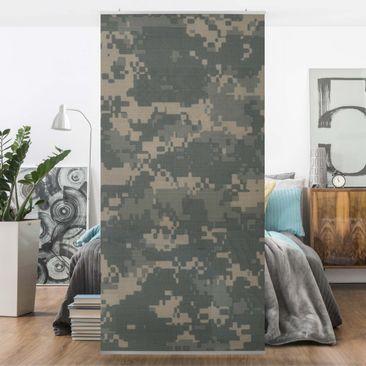 Produktfoto Raumteiler - Camouflage 250x120cm