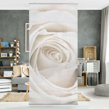 Produktfoto Panel Curtain Pretty White Rose...
