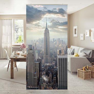 Produktfoto Raumteiler - Sonnenaufgang in New York 250x120cm