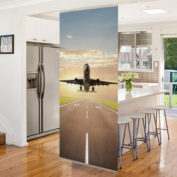 Product picture Panel Curtain Starting Airplane...
