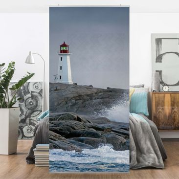 Immagine del prodotto Tenda a pannello Storm Waves At The Lighthouse 250x120cm