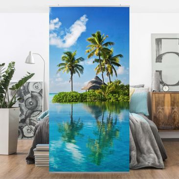 Product picture Panel Curtain Tropical Paradise...