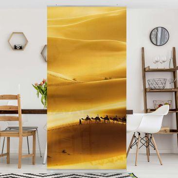 Produktfoto Raumteiler - Golden Dunes 250x120cm