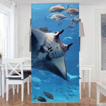 Produktfoto Raumteiler - Manta Ray 250x120cm