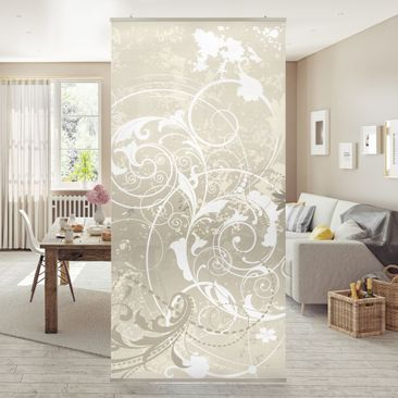 Produktfoto Panel Curtain Pearl Ornament Design...