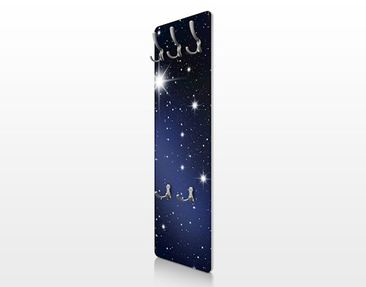 Product picture Coat Rack - Stars 139x46x2cm
