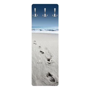 Produktfoto Garderobe - Spuren im Sand - Maritim