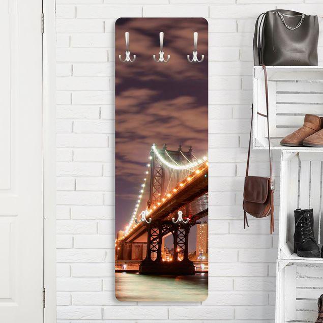 Produktfoto Garderobe New York - Manhattan Bridge