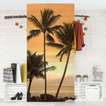 Produktfoto Raumteiler - Caribbean Sunset 250x120cm