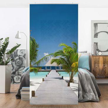 Produktfoto Raumteiler - Catwalk To Paradise 250x120cm