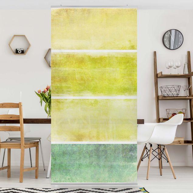 Produktfoto Raumteiler - Colour Harmony Yellow 250x120cm