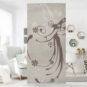 Immagine del prodotto Tenda a pannello No.CA7 Floral Fairy 250x120cm