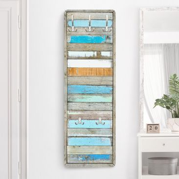 Product picture Coat Rack - shelves of the Sea - natura...