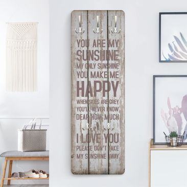 Product picture Coat Rack - No.RS182 Sunshine 139x46x2cm