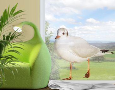 Produktfoto Fensterfolie - Fenstersticker No.CA45 Möwe III - Fensterbilder