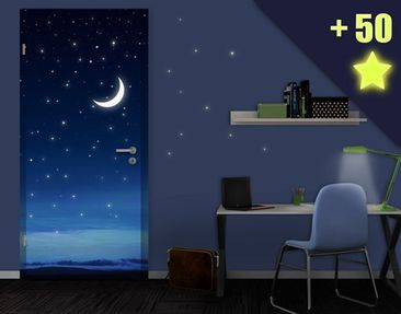 Produktfoto Door Photo Wall Mural Spirit Of Night...