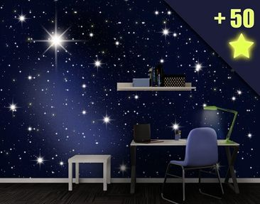 Product picture Photo Wall Mural Stars inclusive 50...