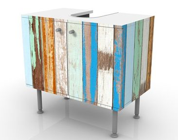 Product picture Design Vanity Old Fence 60x55x35cm