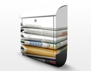 Product picture Design Letter Box Newspaper Stack...