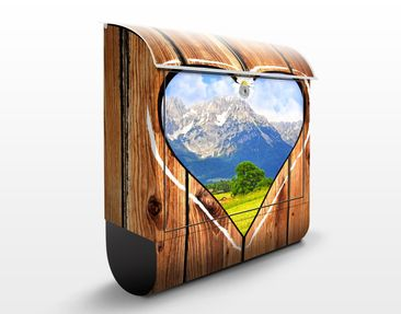 Product picture Design Letter Box Mountain Huts...