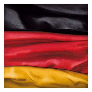 Product picture Design Table Germany Flag Curved...