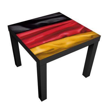 Produktfoto Design Table Germany Flag Curved...