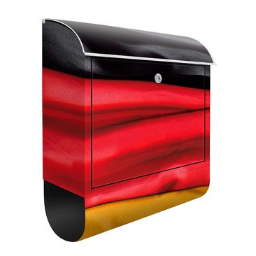 Produktfoto Design Letter Box Germany Flag Curved...