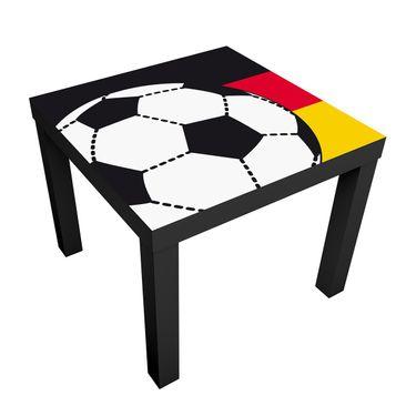 Produktfoto Kindertisch No.UL1072 Fußball Deutschland 55x55x45cm