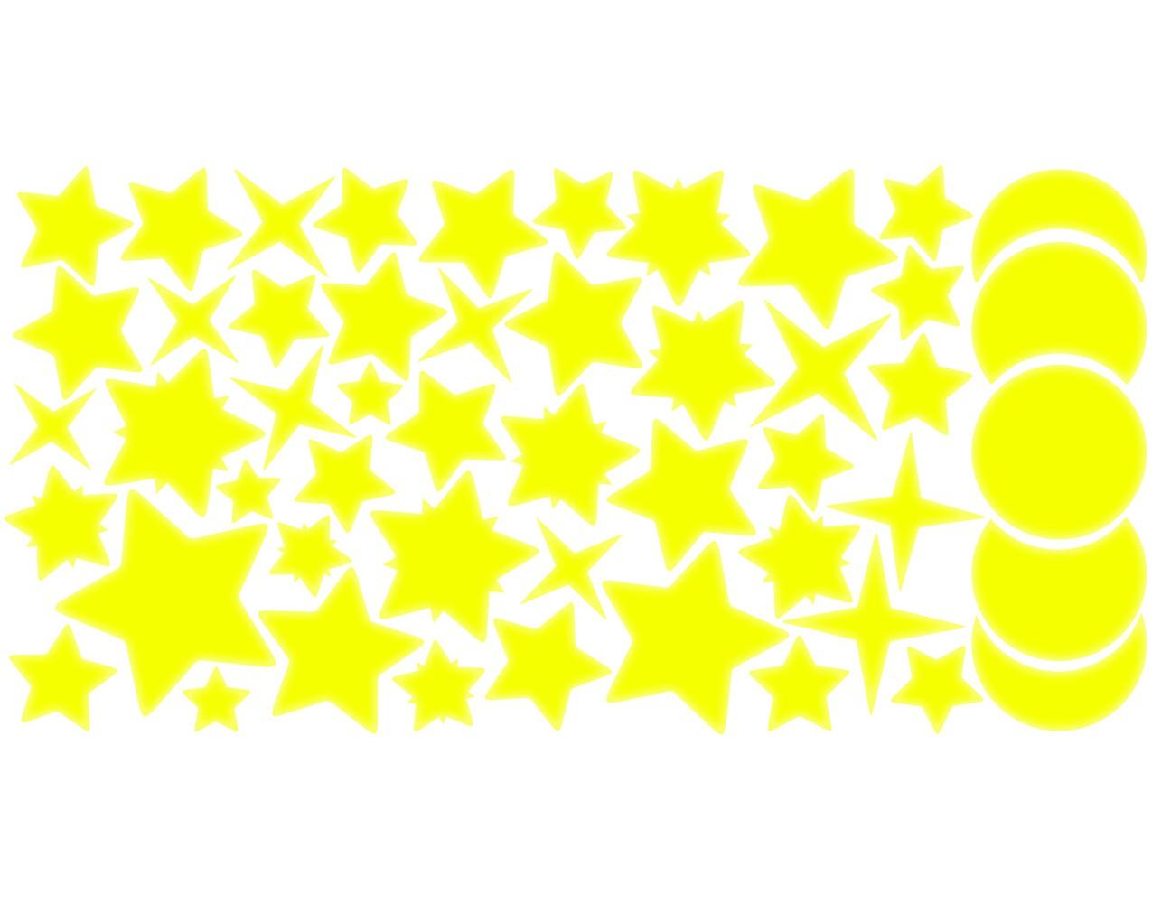 Wandtattoo kinderzimmer sternenhimmel 100er set for Sternenhimmel kinderzimmer