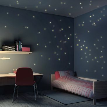 Product picture Wall Sticker Set Starry Sky 100 pc