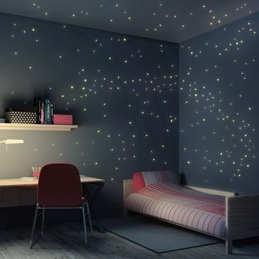 Produktfoto Wall Decal Starry Sky 250pcs Set