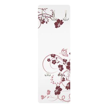 Immagine del prodotto Appendiabiti con fiori - Fiore di pesco - Moderno