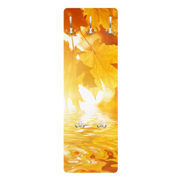 Produktfoto Garderobe - Autumn Leaves - Orange Gelb