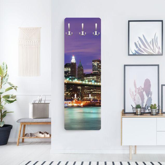 Produktfoto Garderobe - Brooklyn Bridge in New York City