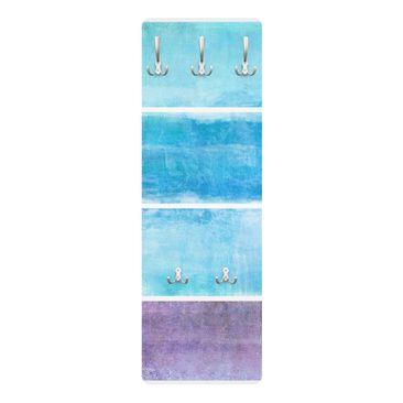 Produktfoto Garderobe Streifen - Colour Harmony Blue - Maritim