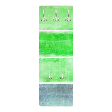 Produktfoto Garderobe Streifenmuster - Colour Harmony Green - Grün