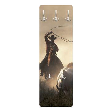 Produktfoto Kindergarderobe - Cowboys - Kinderzimmer