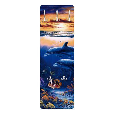 Produktfoto Garderobe - Dolphins World - Blau