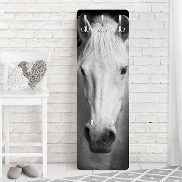 Produktfoto Garderobe - Dream of a Horse - Weiß