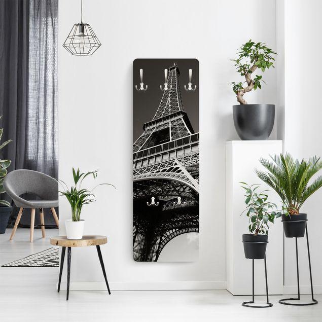 Produktfoto Garderobe Paris - Eiffelturm - Schwarz