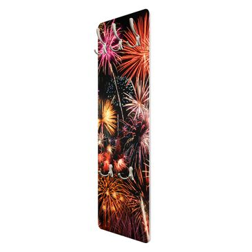 Product picture Coat Rack - Fireworks 139x46x2cm