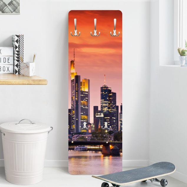 Produktfoto Garderobe - Frankfurt Skyline - Orange