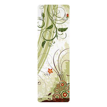 Immagine del prodotto Appendiabiti - Primavera - Stile provenzale verde