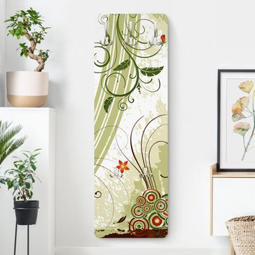 Produktfoto Garderobe - Frühlingszeit - Landhaus Grün