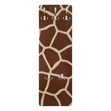 Produktfoto Garderobe - Giraffe - Braun
