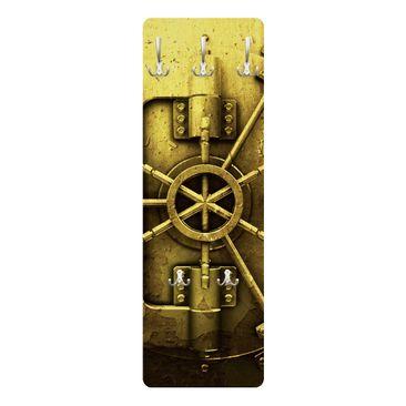 Produktfoto Garderobe - Golden Safe - Gelb