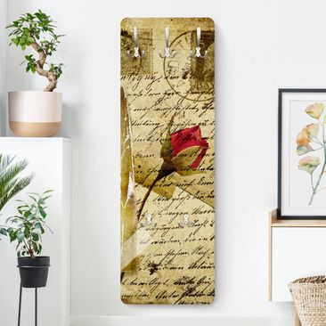 Produktfoto Garderobe Blumen - Heavenly Postcard - Beige