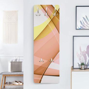 Produktfoto Design Garderobe - Lost in Thought - Gelb