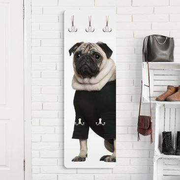 Product picture Coat Rack - Pug Fashion 139x46x2cm